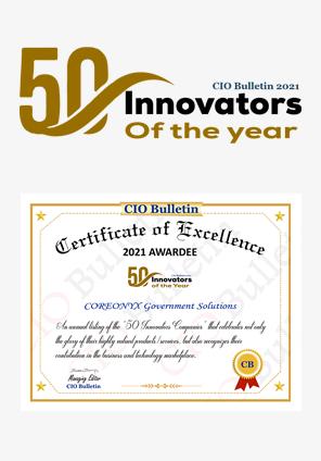 50 innovators award