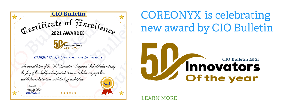 COREONYX award